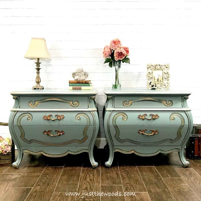 paint wood furniture, painted furniture, painted bombe chest, beauty and the beast furniture