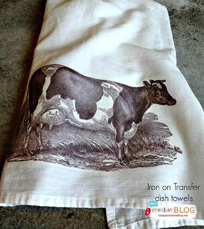 iron on transfer, diy iron on transfer, transfer image, iron on cow image