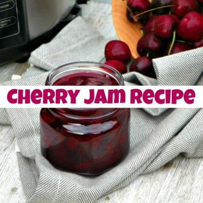 Super Simple Instant Pot Cherry Jam Recipe