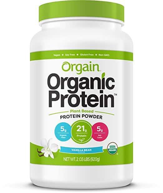 vegan protein powder, plant based protein powder, organic protein powder