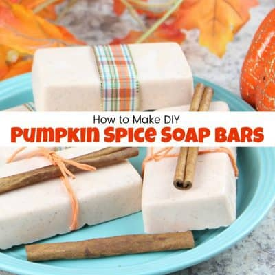 How to Make Pumpkin Spice DIY Soap the Easy Way
