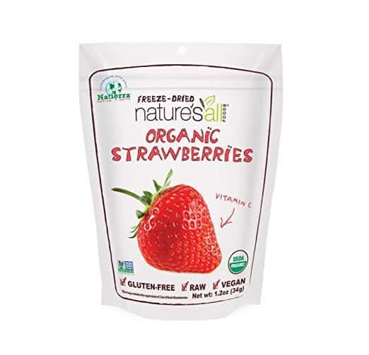 organic berries, freeze dried berries, after school snacks, school snack ideas, kid snack ideas, easy healthy snacks