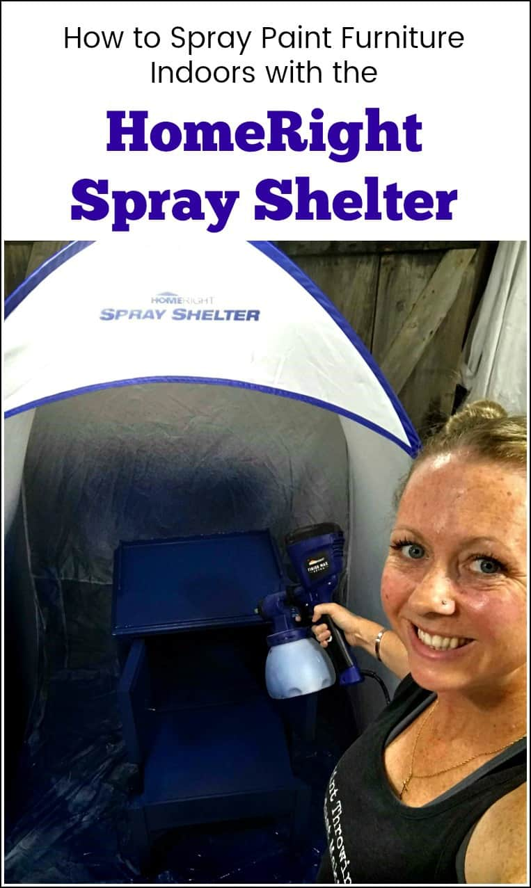 How to Set Up and Store the HomeRight Spray Shelter