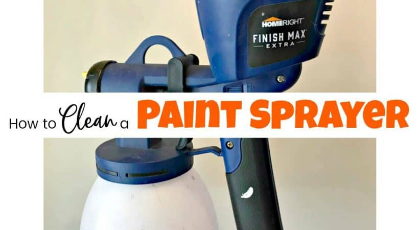 How to Clean a Paint Sprayer