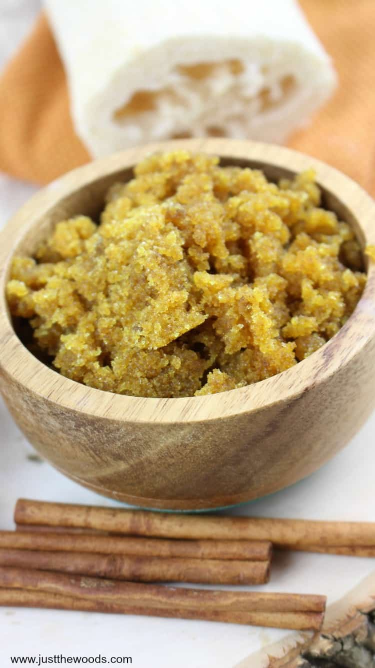 brown sugar scrub, how to make body scrub, sugar body scrub