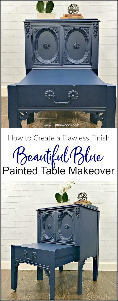 See how to spray paint furniture the easy way using the best paint sprayer. This indoor paint sprayer will make your furniture painting project a breeze. #bestpaintsprayer #paintsprayer #spraypaintfurniture #homerightpaintsprayer #howtouseapaintsprayer #paintedfurnitureideas #bluepaintedfurniture #paintedfurinturebeforeandafter