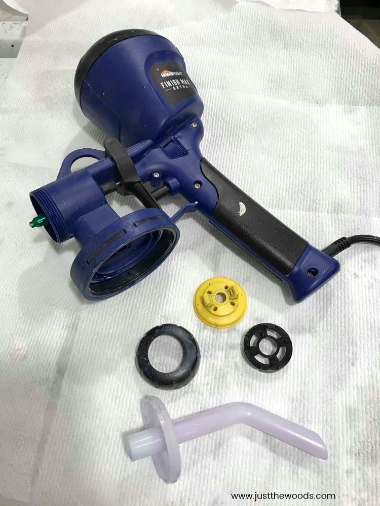 paint sprayer parts, easy to clean paint sprayer, homeright paint sprayer