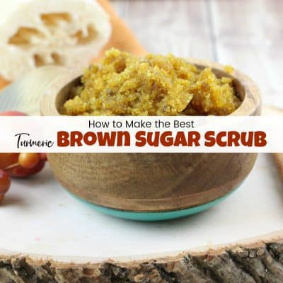 How to Make the Best Turmeric & Brown Sugar Scrub