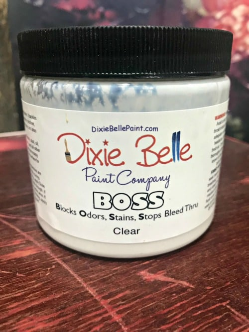 block odors, block stains, stop bleed through, dixie belle, boss