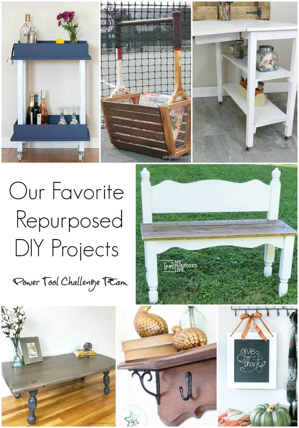 power tool challenge, upcycle projects, repurposed projects, blog hop, diyi blogs