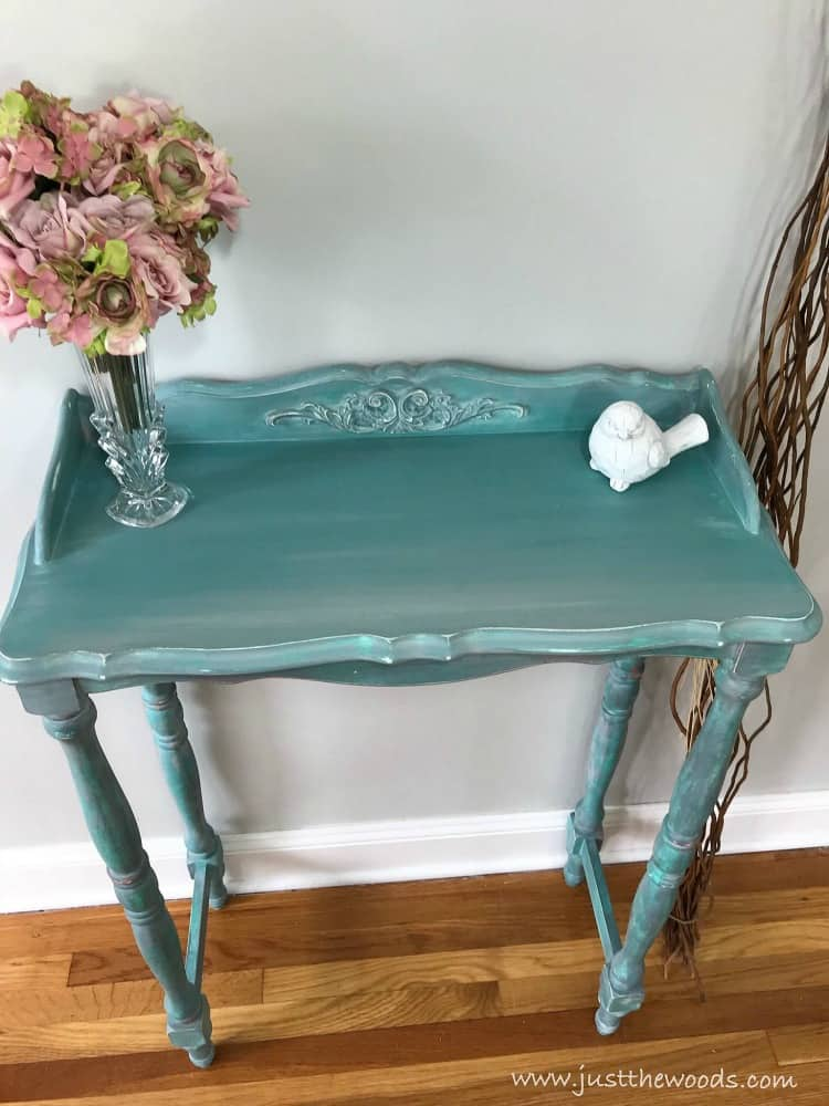 how to paint furniture beach look