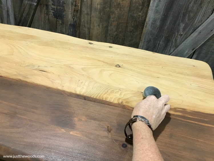 how to stain a table, wooden table refinish, refinishing a table, furniture stain