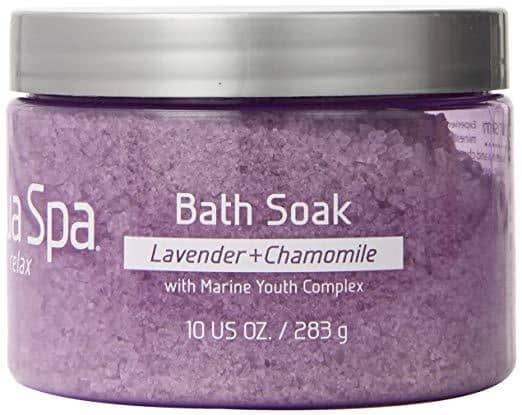 bath soak, lavender bath soak, bath salt soak