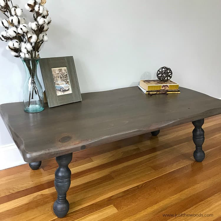 How to Refinish a Rustic Wood Coffee Table with Beautiful Results