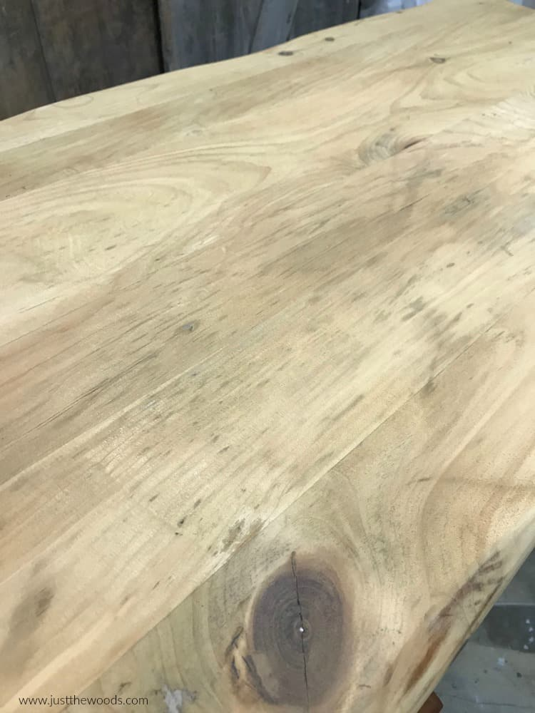 refinishing a table, rustic wood coffee table, wood table top