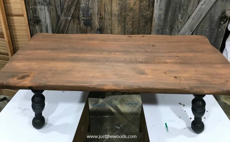 small wooden table, rustic coffee table, refinishing a wood table, how to stain a table