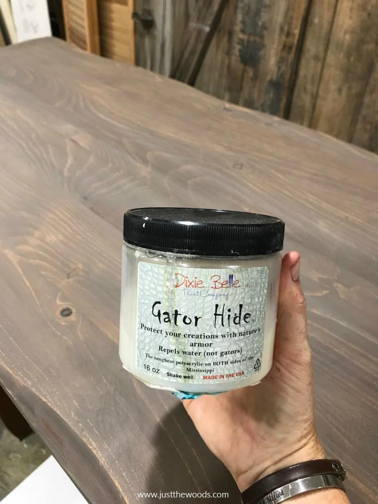 water proof top coat, gator hide, clear sealer, how many coats of poly