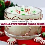 How to Make the Best DIY Vanilla Peppermint Sugar Scrub