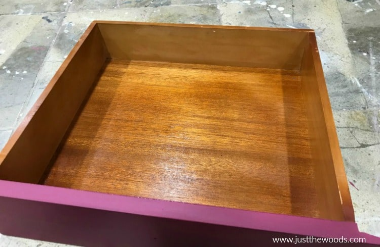 how to save wooden drawers, freshen up wooden drawers, wise owl, furniture salve