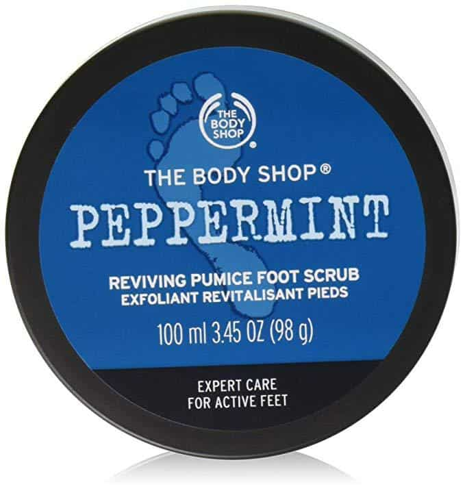 peppermint foot scrub
