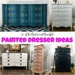 10+ of the Best & Most Beautiful Painted Dresser Ideas