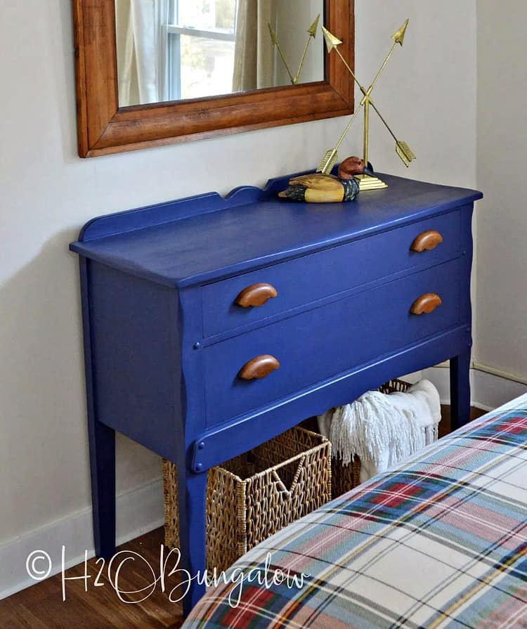 painted dresser ideas, blue painted dresser, painted blue dresser