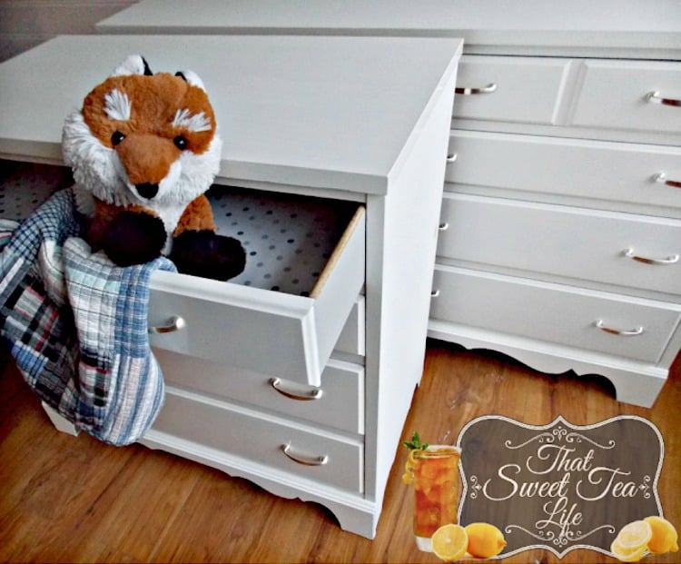 painted dresser ideas, white painted dressers, painted kids furniture, paint nursery furniture