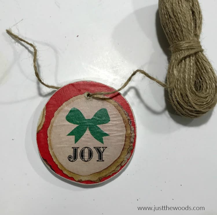 rustic handmade ornaments, rustic christmas ornaments, DIY Wooden Christmas Ornaments