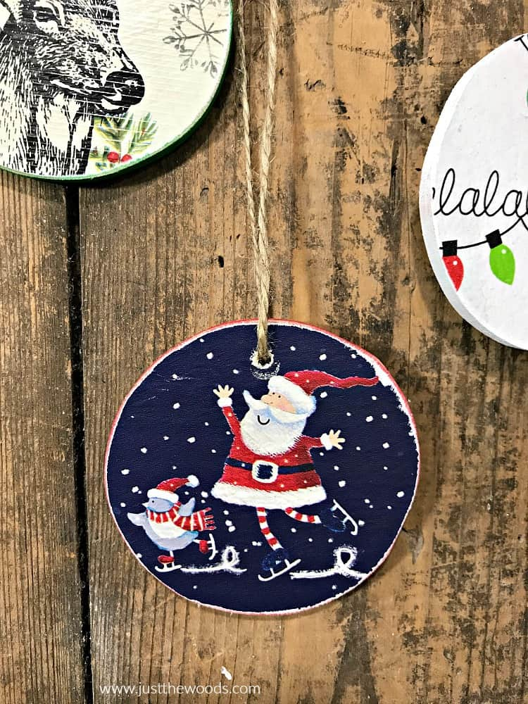wooden christmas ornaments, DIY Wooden Christmas Ornaments, christmas ornaments to make
