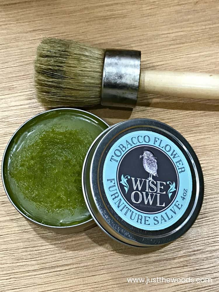 wise owl, verbena, furniture salve, tobacco flower