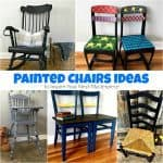 10+ Painted Chairs Ideas to Inspire Your Next Masterpiece