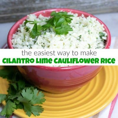 Cilantro Lime Cauliflower Rice You Will Love