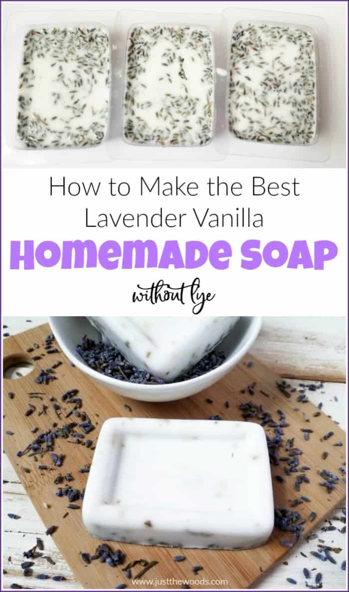 How to Make the Best Lavender Vanilla Homemade Soap Recipe