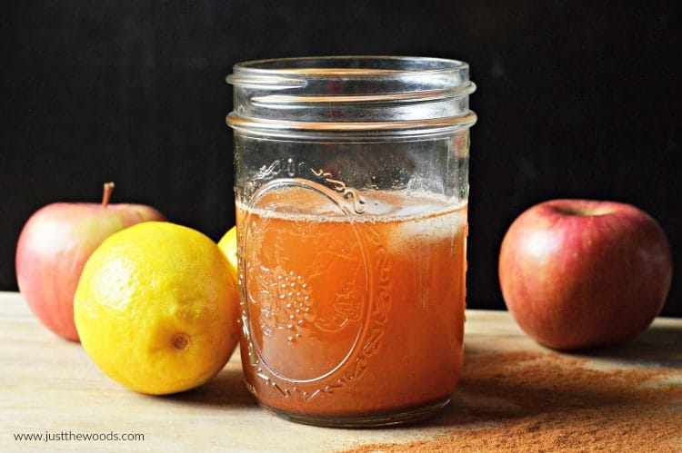 apple cider vinegar detox drink, ACV drink, apple cider vinegar with water