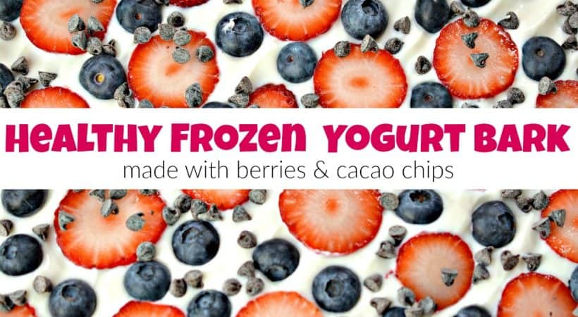 How to Make Healthy Berry Yogurt Bark You Will Love