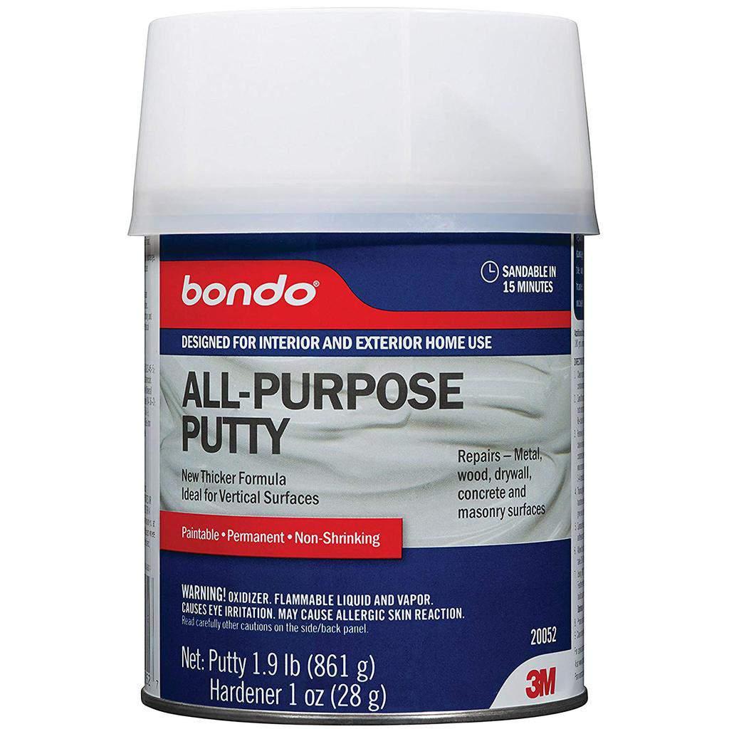 bondo wood filler, all purpose putty, bondo putty, 3m bondo, bondo all purpose putty