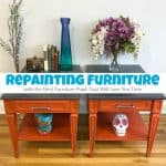 Repainting Furniture with the Best Furniture Paint That Will Save You Time