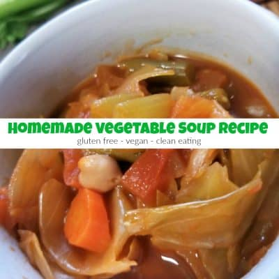 How to Make the Best Gluten Free Homemade Vegetable Soup