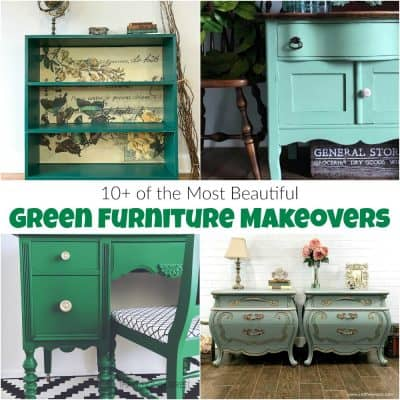 10+ of the Most Beautiful Green Furniture Makeovers