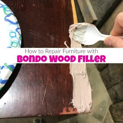 How to Repair Furniture with Bondo Wood Filler