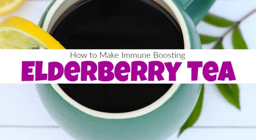 How to Make Immune Boosting Elderberry Tea