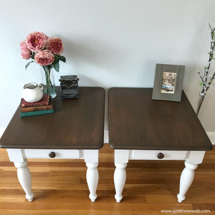 how to refinish wood tables, how to stain wood, wood stain, apply furniture stain