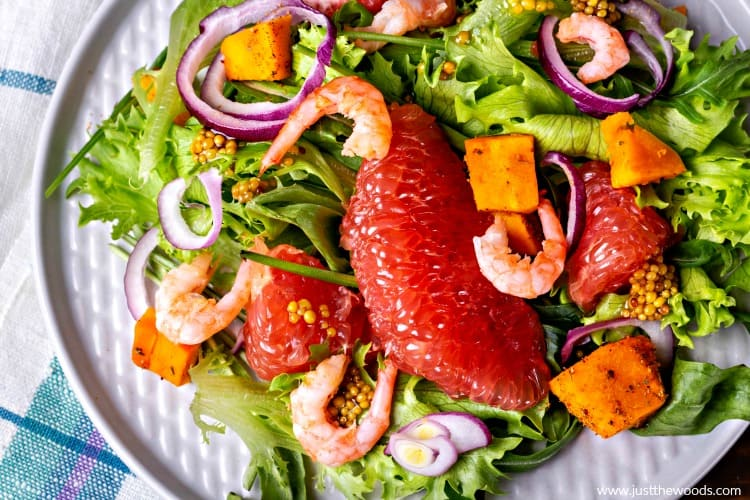 healthy salad recipes, grapefruit salad recipes
