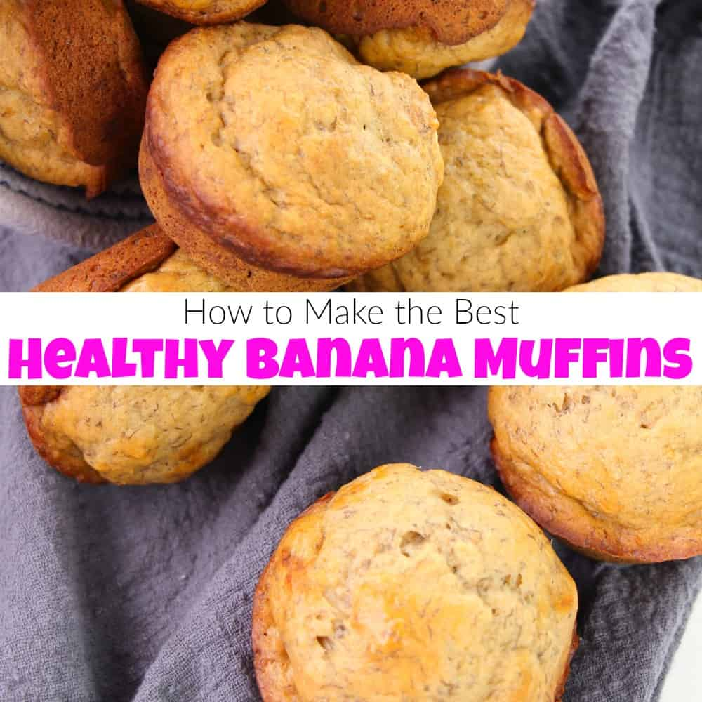 How to Make the Best Healthy Banana Muffins