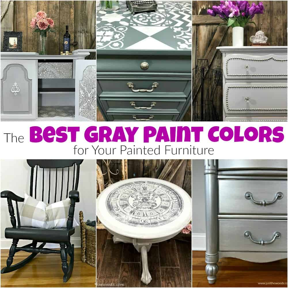 Best Gray Paint Colors For Painted Furniture Jpg