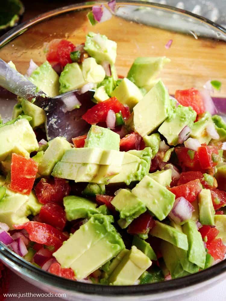how to make simple guacamole recipe