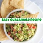 Easy Guacamole Recipe for Clean Eating You'll Love