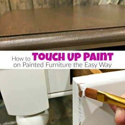 How to Touch Up Paint on Painted Furniture the Easy Way