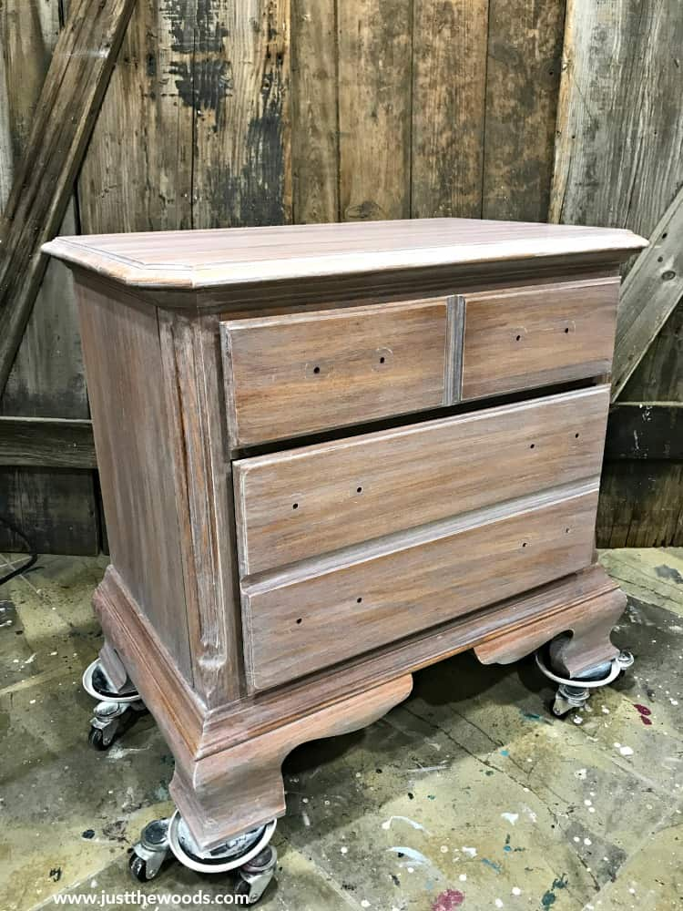 weathered wood furniture, small dresser with white stain, white wood stain, weathered wood stain look