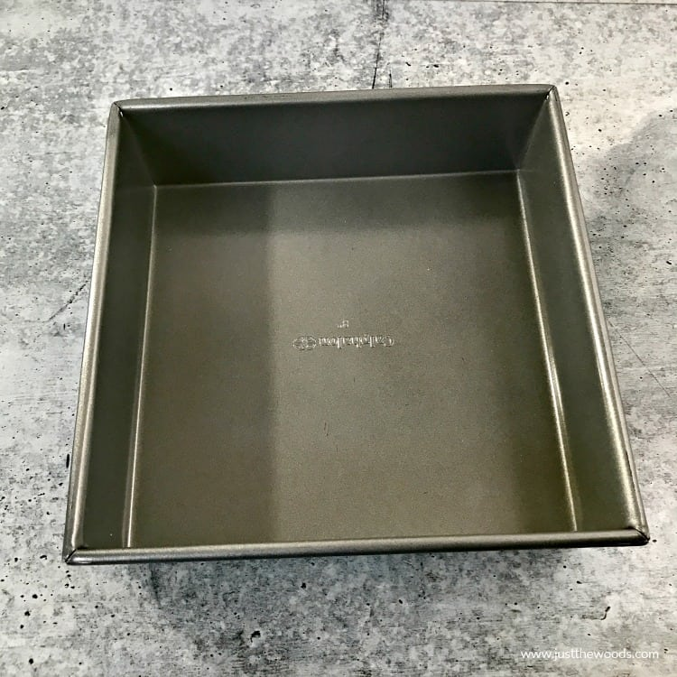 baking pan, square pan